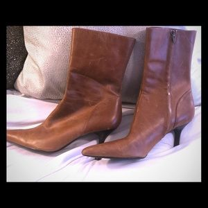 Steve Madden Chicago camel leather boots size 7.5